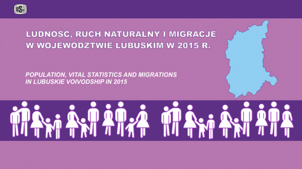 Population, vital statistic and migrations in lubuskie voivodship in 2015